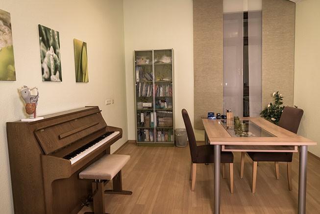 Klavierraum - Logopädische Praxis Carolin Jacobs
